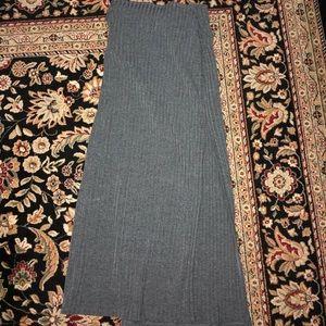 Abercrombie maxi slit skirt